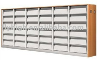 magazine shelf with melamine board