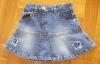 baby kids clothes child garment girl denim skirt
