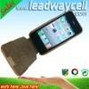 Hot selling genuine leather case for iphone 4G mobile case