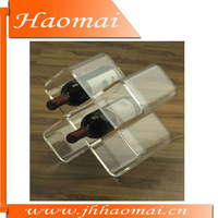 2011 new acrylic wine stander,wine holder,antique wine holder,acrylic wine bottle holder,shoe wine holder