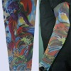 promotional gift breathable skin tight tattoo sleeve