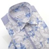 hot sale hawaiian casual style men's short sleeve shirt