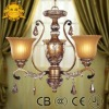 Modern Style Crystal Chandelier lamp for kitchen room/CE&CCC&UL&CB/17 years manufacturer
