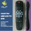 jumbo Remote Control xlf-053B with Learning Function, widely used for STB,Dm box,LCD TV