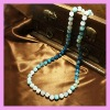 Fashion blue agate necklace SWN109