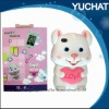 High quality three-dimensional happy rabbit appearence fashion phone Case for Any phone models Any colors