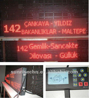 Multiple Language LED bus display