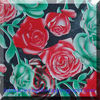 Flower Printed Aluminium Film Gift Wrapping