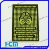Multifunctional mobile phone anti radiation sticker
