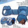 pop up animal tent with tunnel