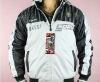 Black/ White Jacket Coat