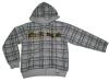 Boy's winter printed hoody jacket