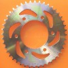 Color zinc plated Motorcycle sprocket