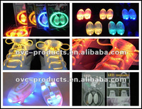 3 Flashing Modes,Brighting and Flashing Led Shoelaces With Battery .Hot-Sale !!