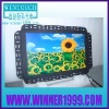19 inch wide screen IR touch screen lcd open frame