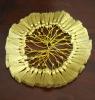 decoration bullion 100% golden metallic tassel fringe