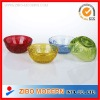 wholesale decorative glass fruit bowl ,high quality glass salad bowl