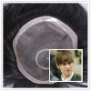 In stock toupee wholesale 45$ lace toupee as Christmas gift 2013