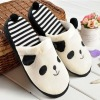 panda plush slippers for wholesale or promotion gift