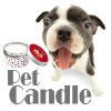 Doggy soya wax candle pet friendly incense perfumes