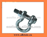 Heavy Duty Round Pin Bow Shackle