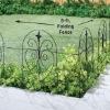 wire folding garden fence