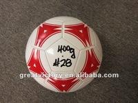 PU PVC football cheap soccer balls soccer training