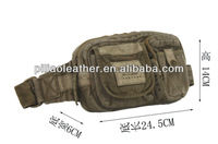 2012 vintage canvas waist bag/ waist bag/ chest bag