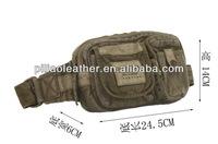 2012 vintage canvas waist bag/ waist bag/ chest bag
