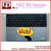 Hot Sale Laptop Keyboard for dell 1427 RU Version Black Notebook Keyboard Whoelsale
