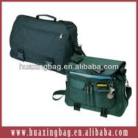 Functional laptop messenger bag
