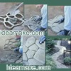 GARDEN SUPPLIES- DIY your garden with the Plastic Concrete Paver Mould