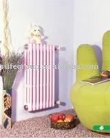 Round Tube Cast Iron Radiator With Three Poles