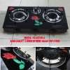 3 burner table glass top stove (RD-GT015-4)