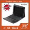 Leather case for ipad1 with keyboard and bluetooth