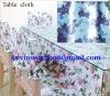 table cloth, transparent PVC film,laminated fabric