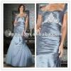 MBD02 Elegant off-the-shoulder Foor-length with Applique Decoration Mother of Bride Dress