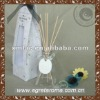 50ml customed lily glass fragrance reed diffuser for wedding