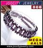 infinity bracelet wholesale crystal bracelet cross wrap bracelet Pretty Crystal Woven Bracelet JCA-CB020