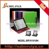 rotating leather case for ipad 3-E