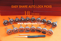 EASY SHARE Auto Lock Pick Combination (18 Types Included)