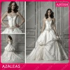AZ0208 Sweetheart Embroidery Rhinestone Ruffles party dresses for women