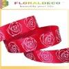 Red Rose Print Ribbon
