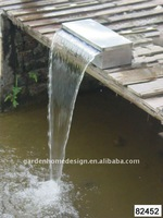 Stainless steel Waterfall fountain