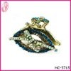 Fashion Vintage Ladies Alloy Hair Claw With Crystals