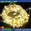 10M warm white 12V light up led coil string light for party decorative