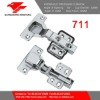 711 hydraulic soft closing cabinet hinge with 105 angle degree