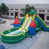 big inflatable water slide titanic water slide