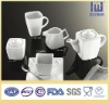 Porcelain white coffee & tea set