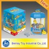 Hot ! Battery operated Children Toy crane machine (237011)
